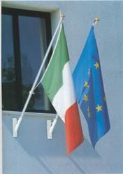 Bandiere da esterno e accessori pubblicit grafica articoli pubblicitari tappetini mouse - Porta bandiere da tavolo ...